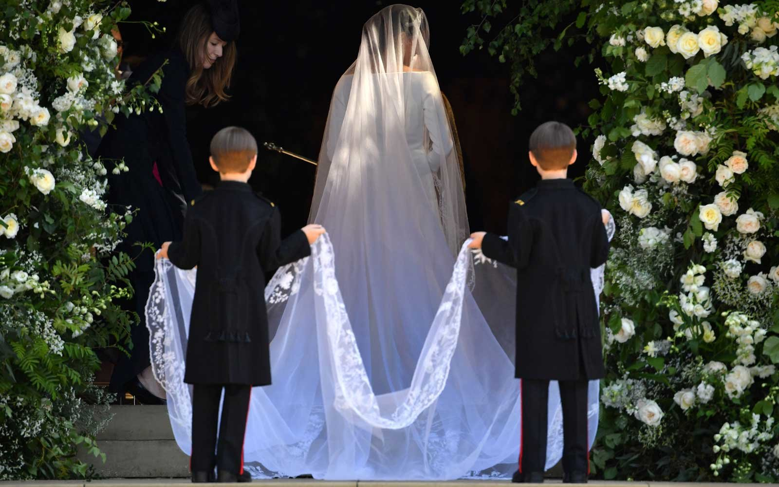 See Meghan Markle S Givenchy Wedding Dress From Every