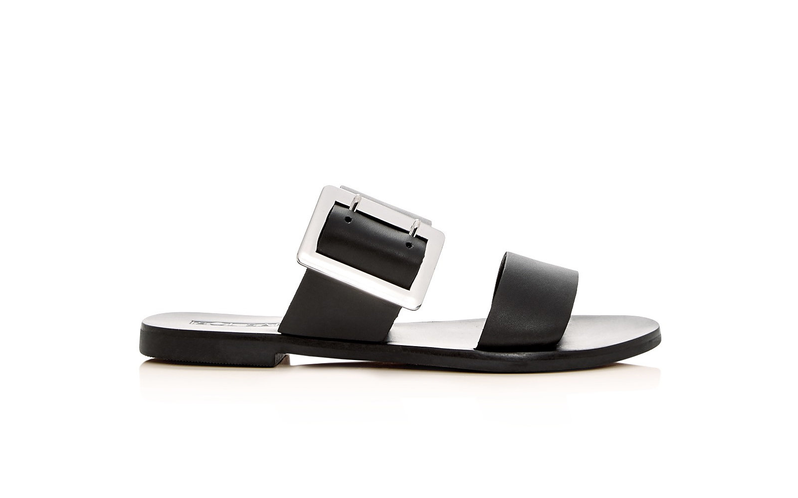 Sol Sana 'April' Leather Slide Sandals