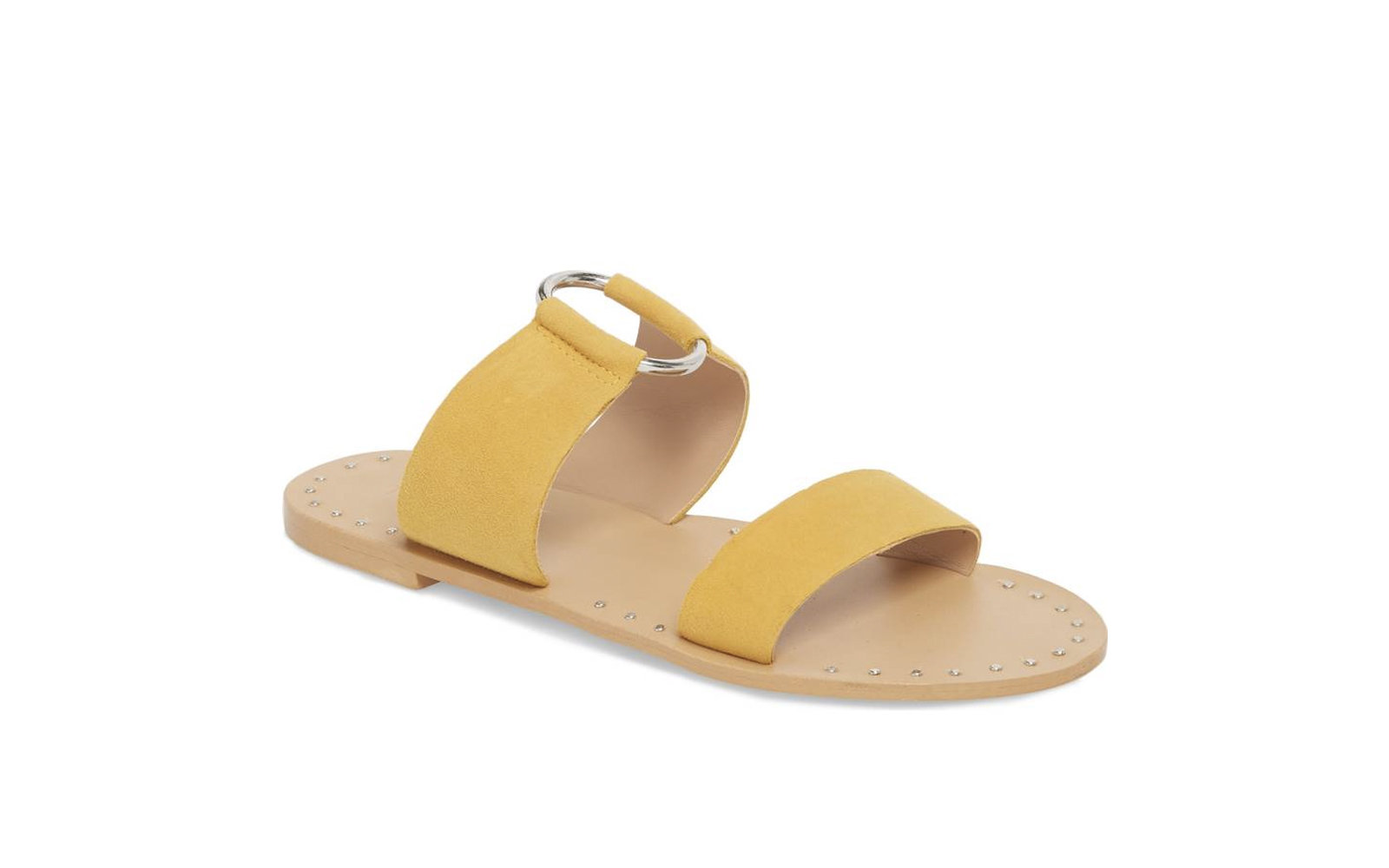 Topshop 'Hooray' Ring Slide Sandal