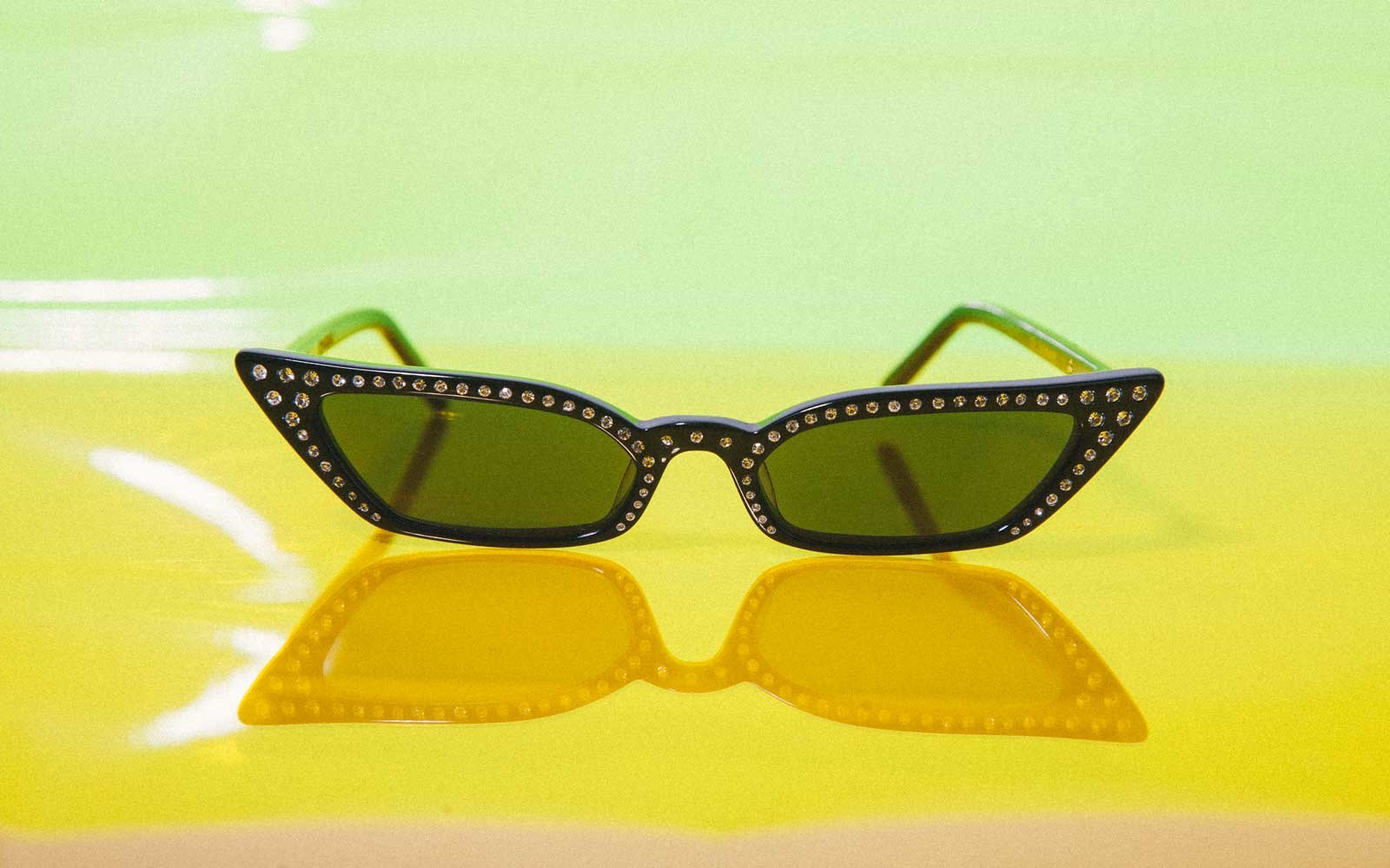 Micro Sunglasses Made by Poppy Lissiman, Le Skinny