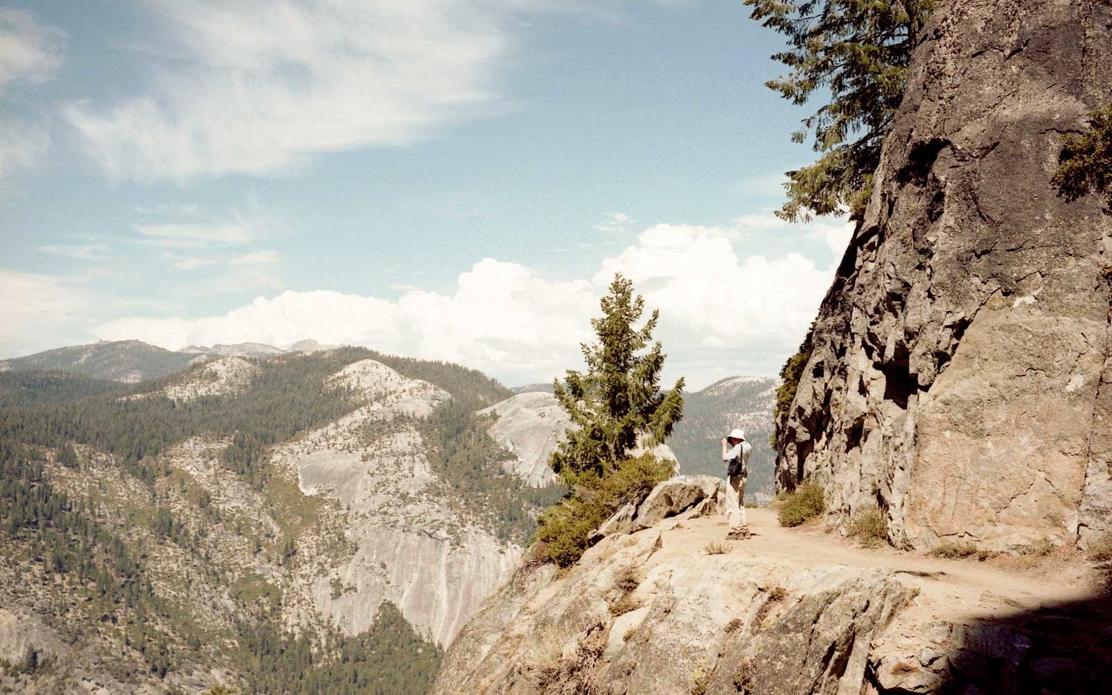 Hiker in Yosemite