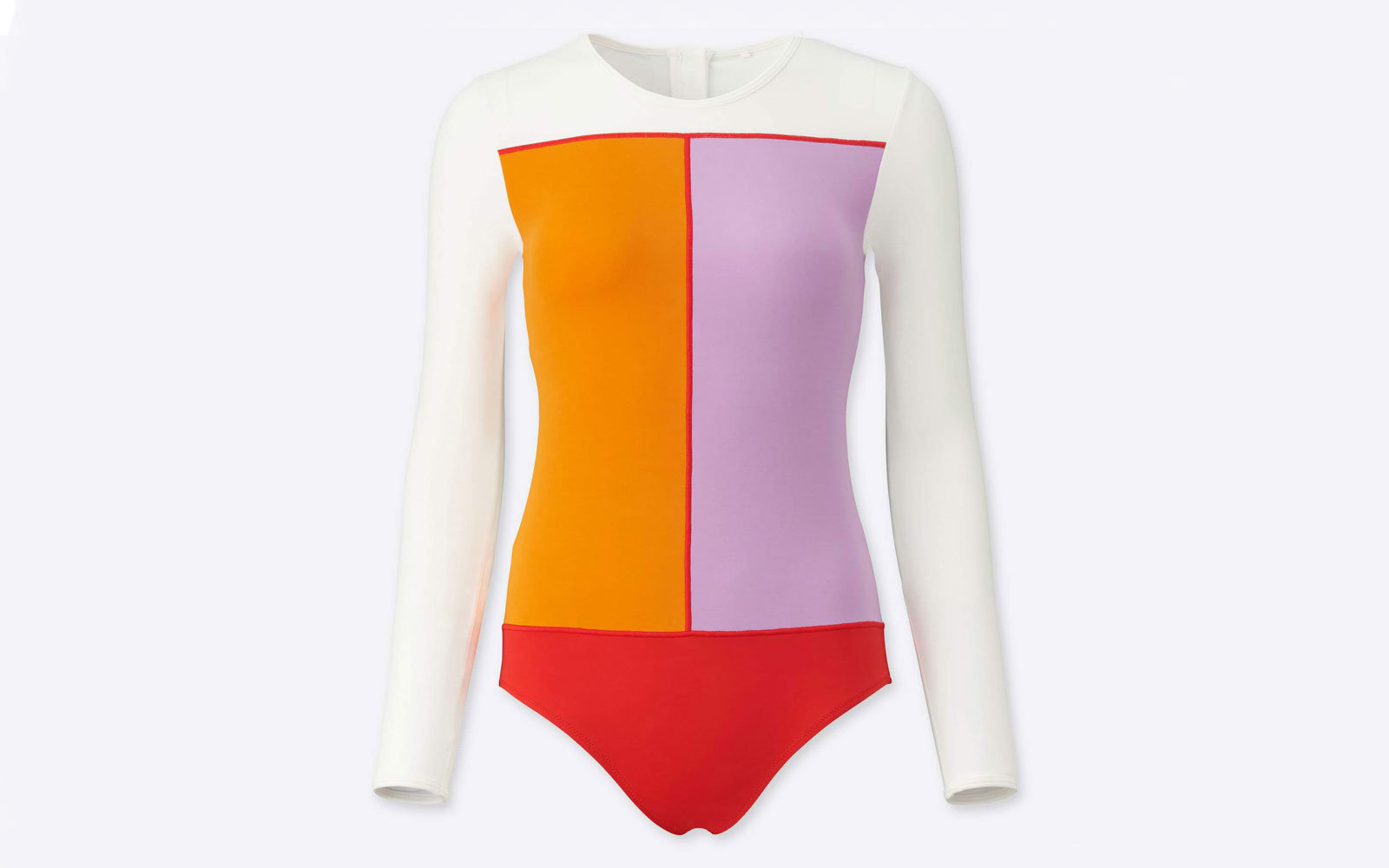 Tomas Maier x Uniqlo long-sleeve swimsuit