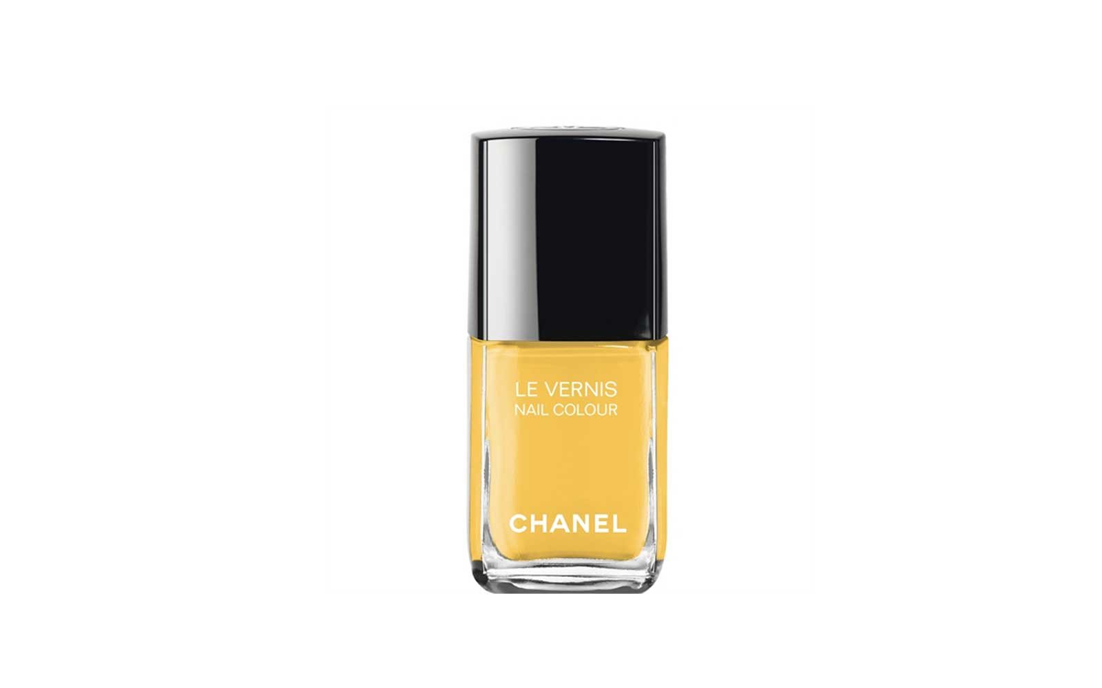 Chanel yellow nail polish