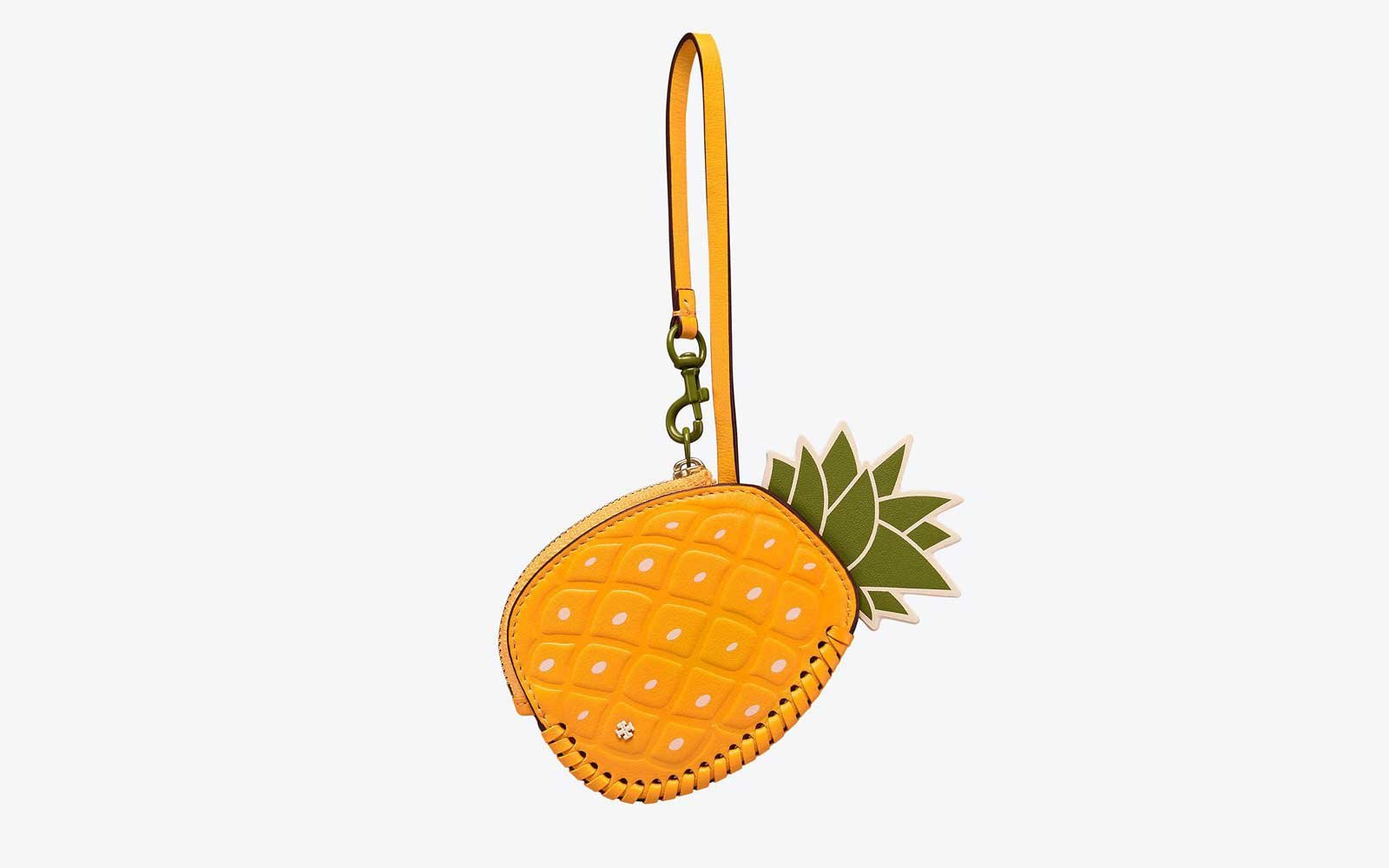 Tory Burch pineapple key ring