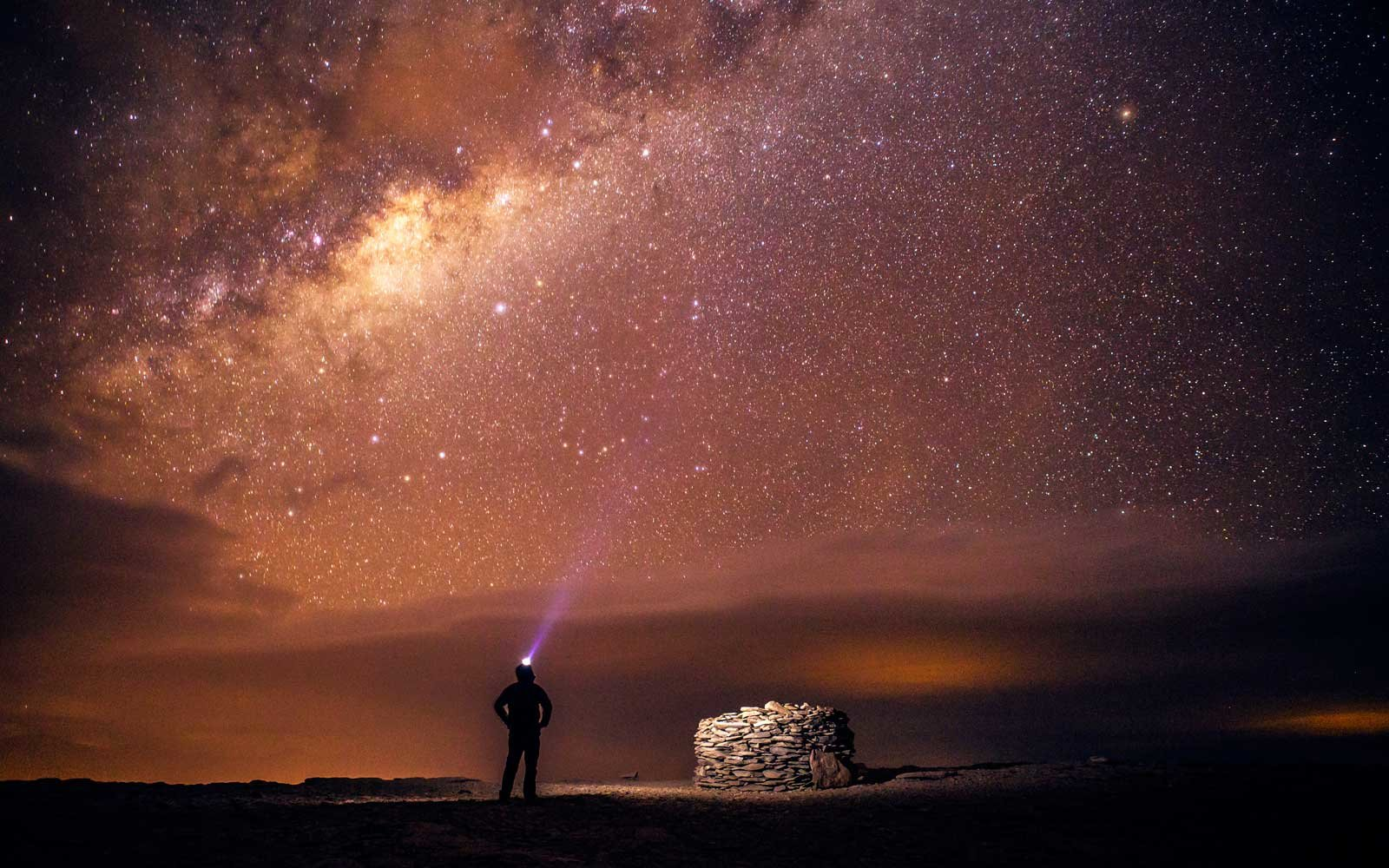 Stargazing in the deserts of Chile