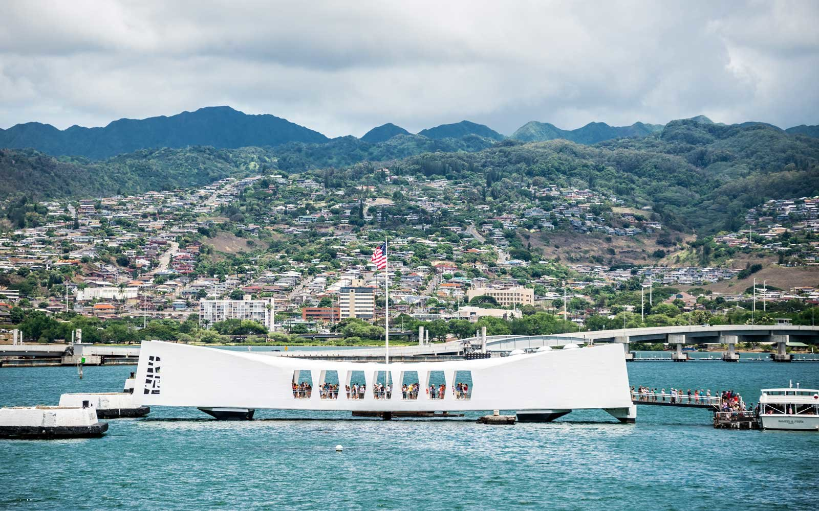 USS Arizona Memorial in Hawaii
