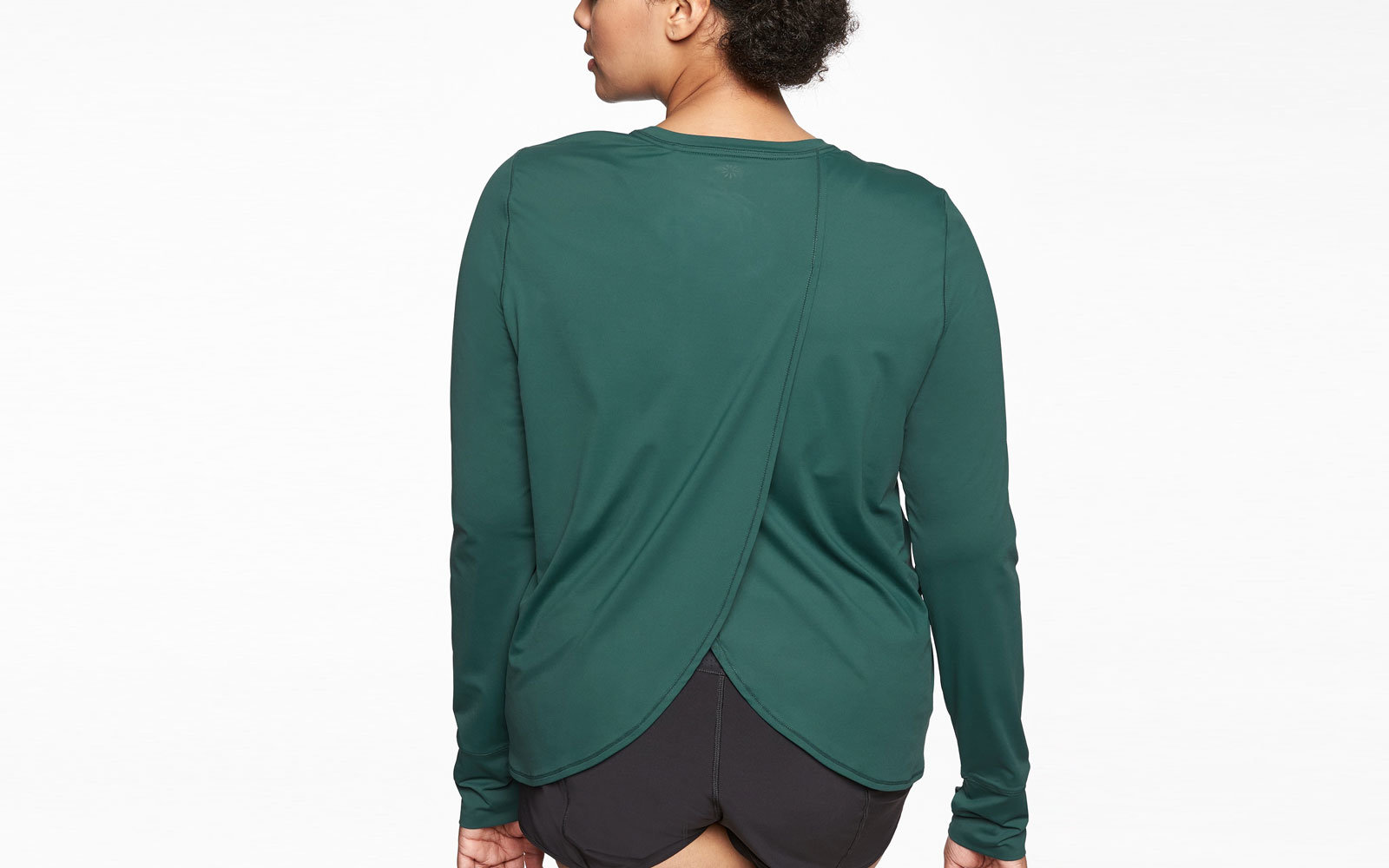 Athleta Sunlover Tulip Back Top UPF 50+