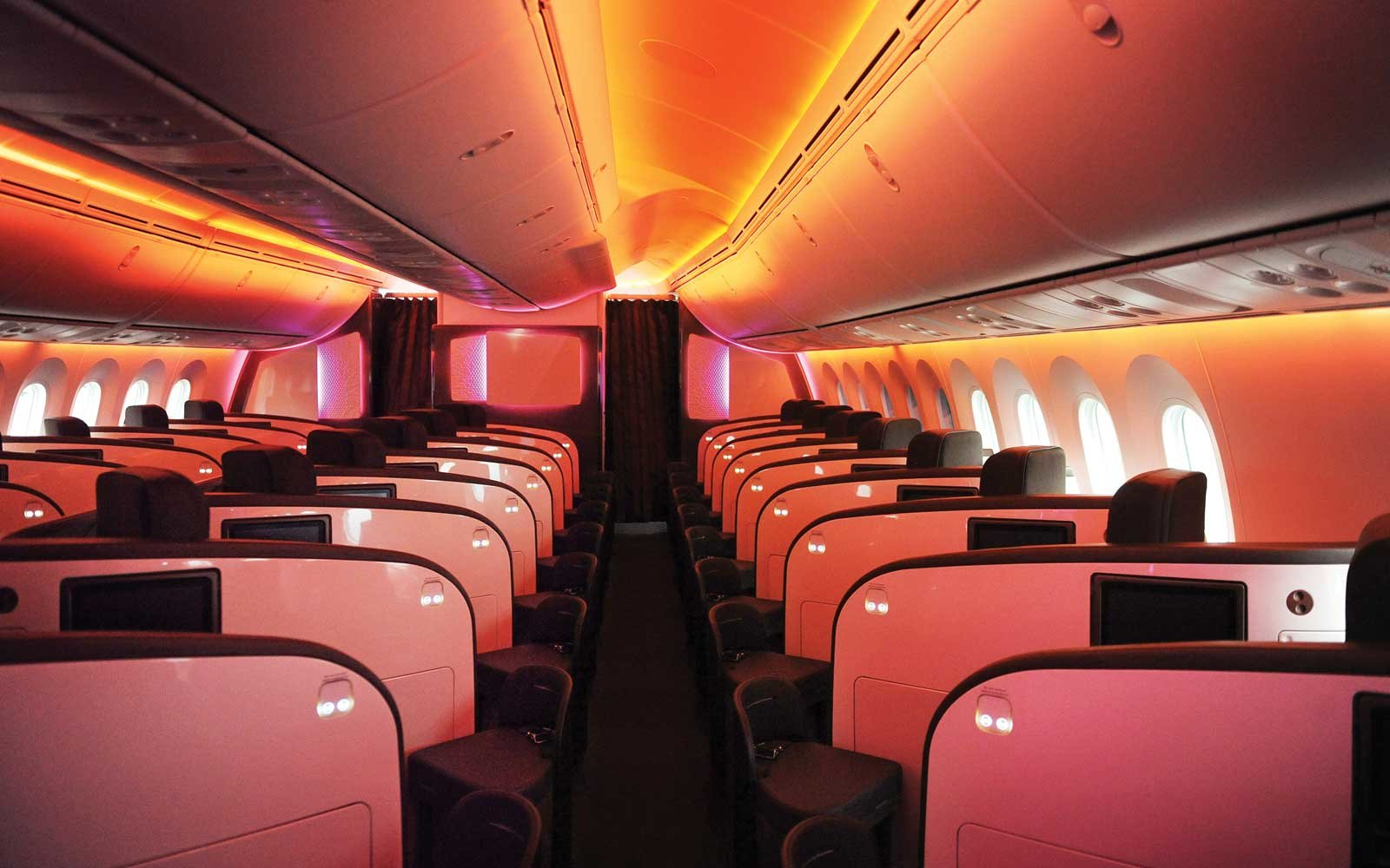 Virgin Atlantic first class