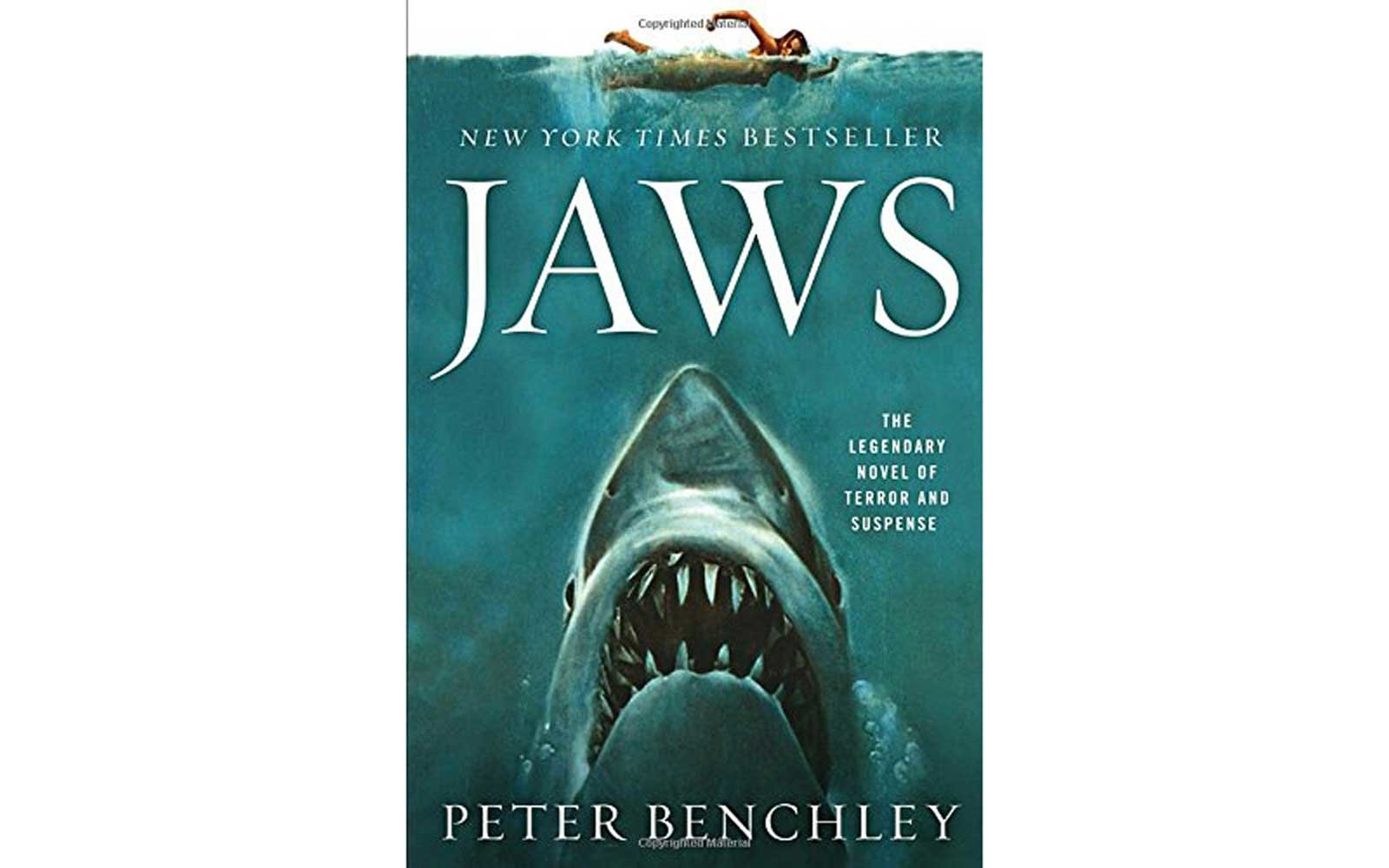 'Jaws' by Peter Benchley (1974)
