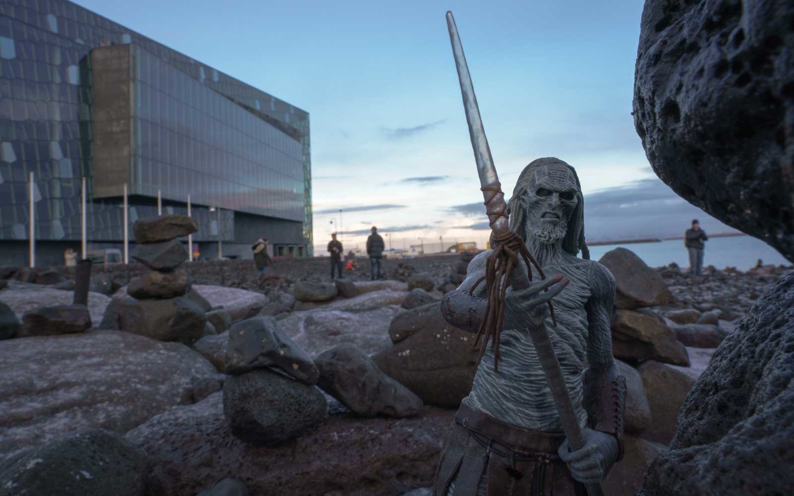 White Walker from Game of Thrones at the Icelandic Opera