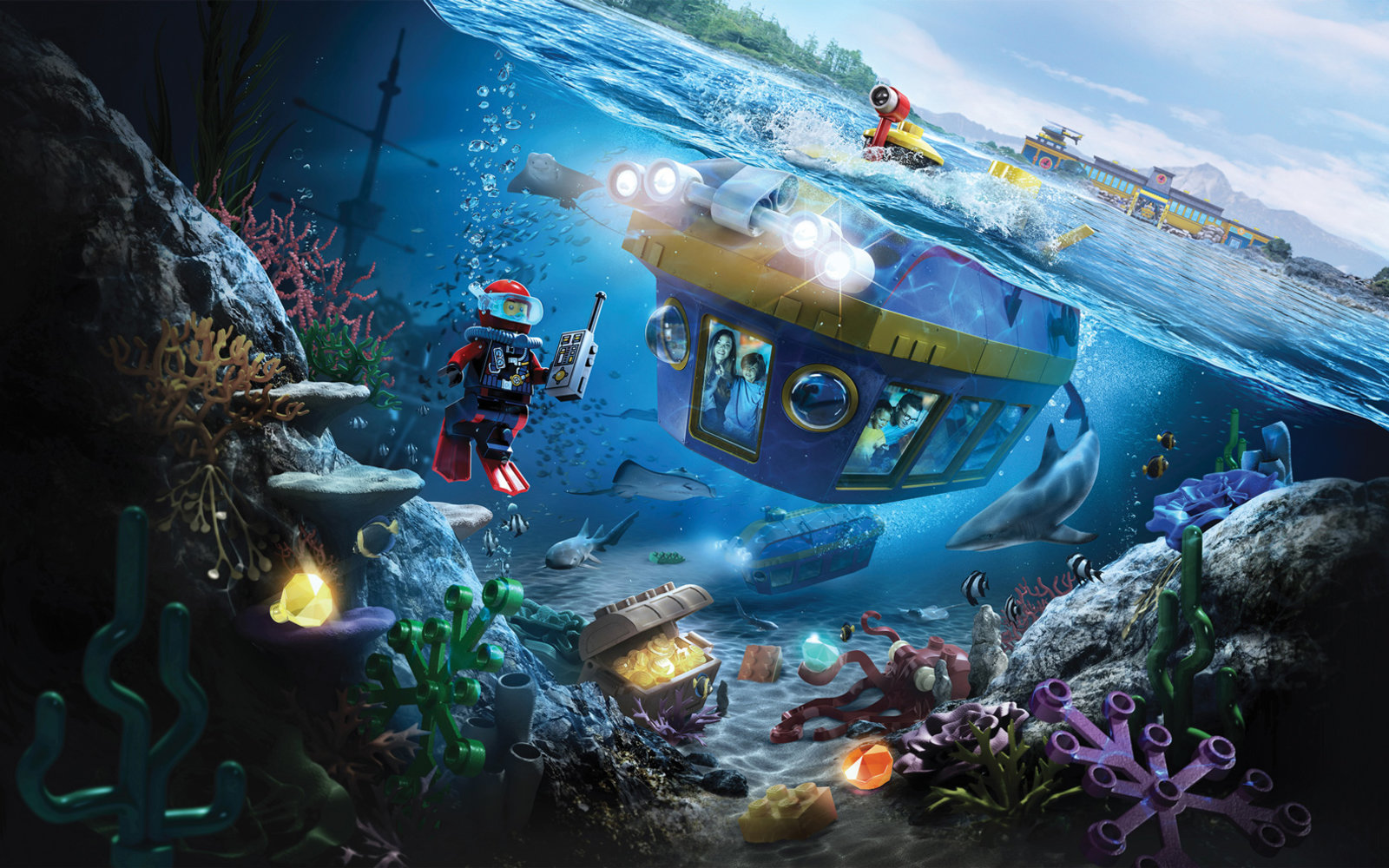Legoland Deep Sea Adventure