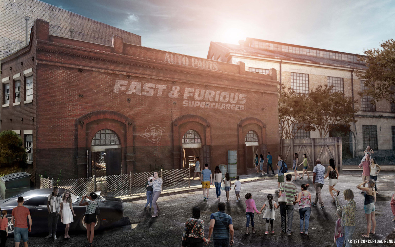 Fast & Furious Supercharged — Universal Studios