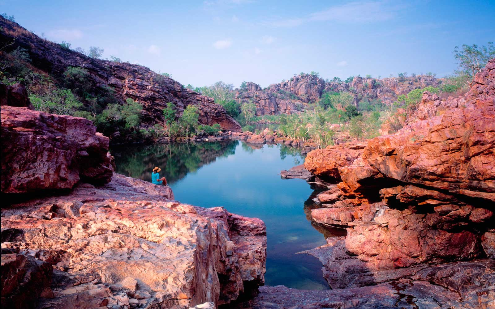 Koolpin Gorge, Kakadu National Park, Northern Territory, Australia