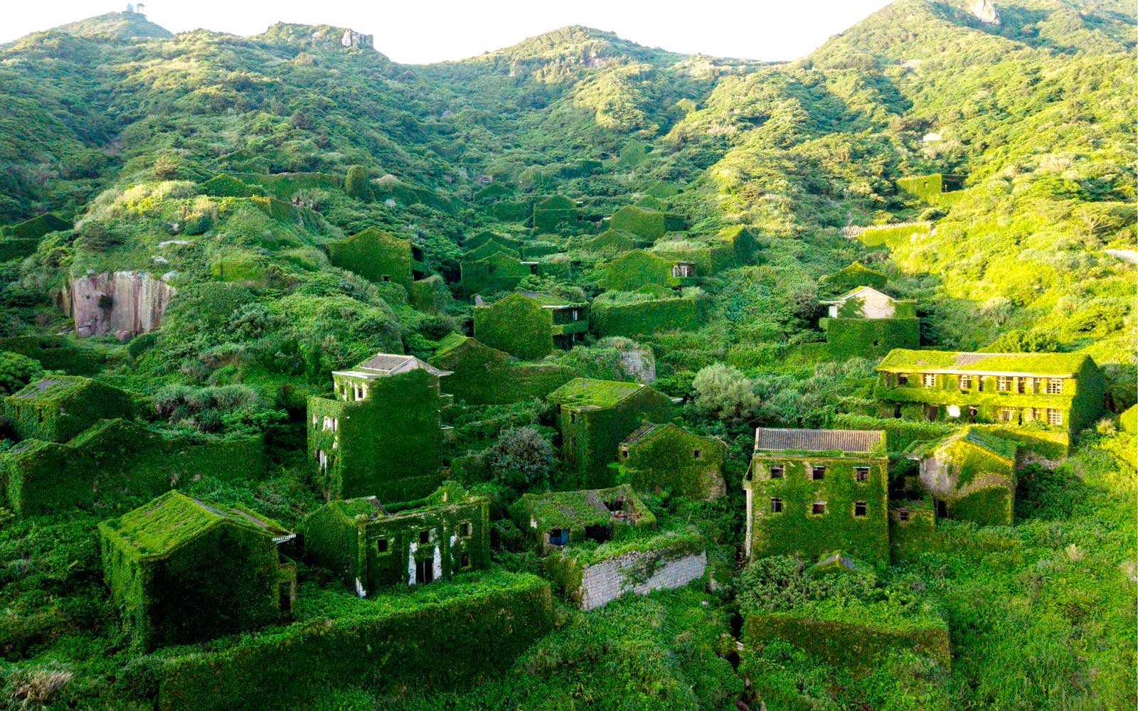 This Ghost Town Was Swallowed Up by Nature and Now It's an Eerily Beautiful Hiking Destination