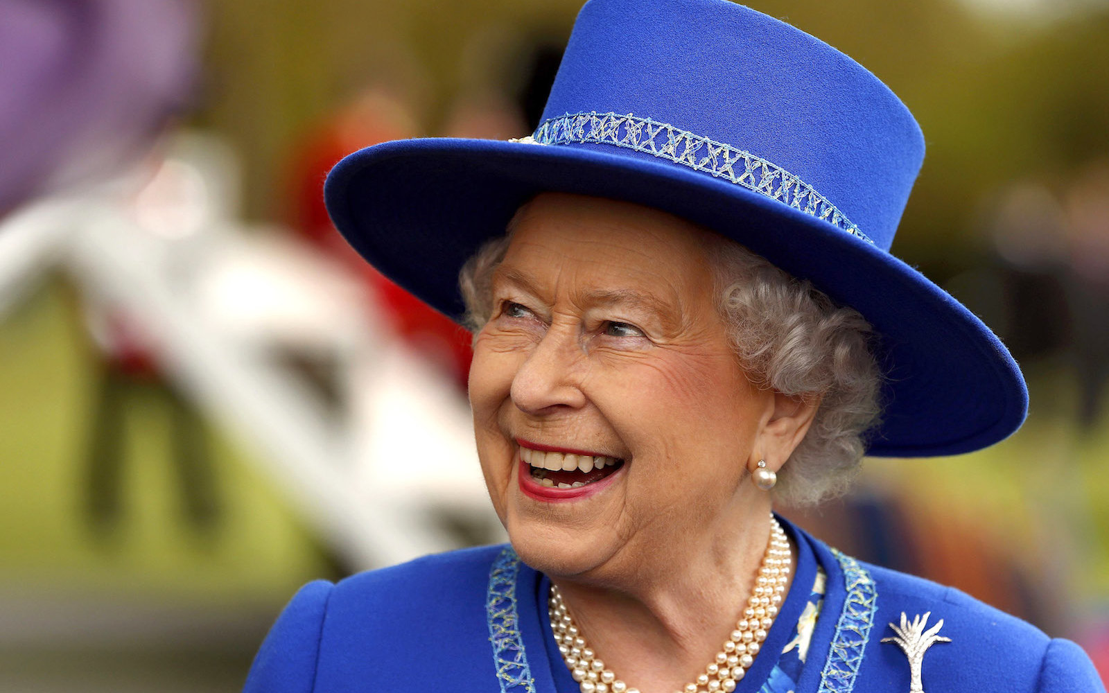 Queen Elizabeth II Presents New Colours To The 1st Battalion, Welsh Guards