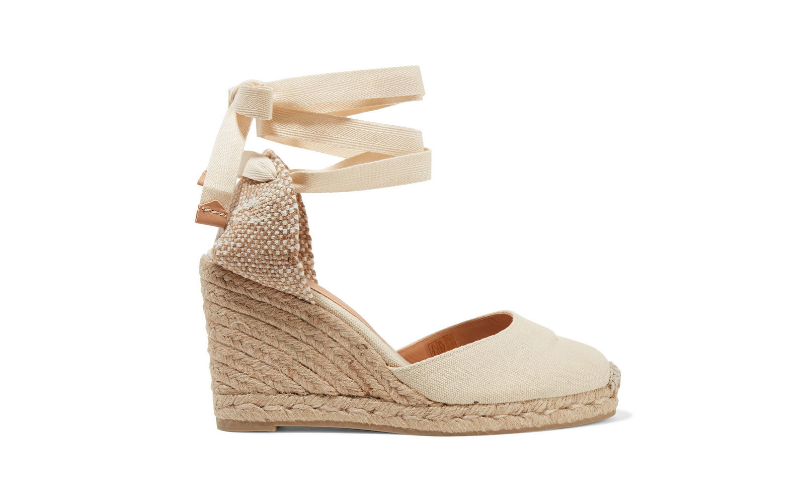 The Wedge: Castañer Carina Canvas Wedge Espadrilles