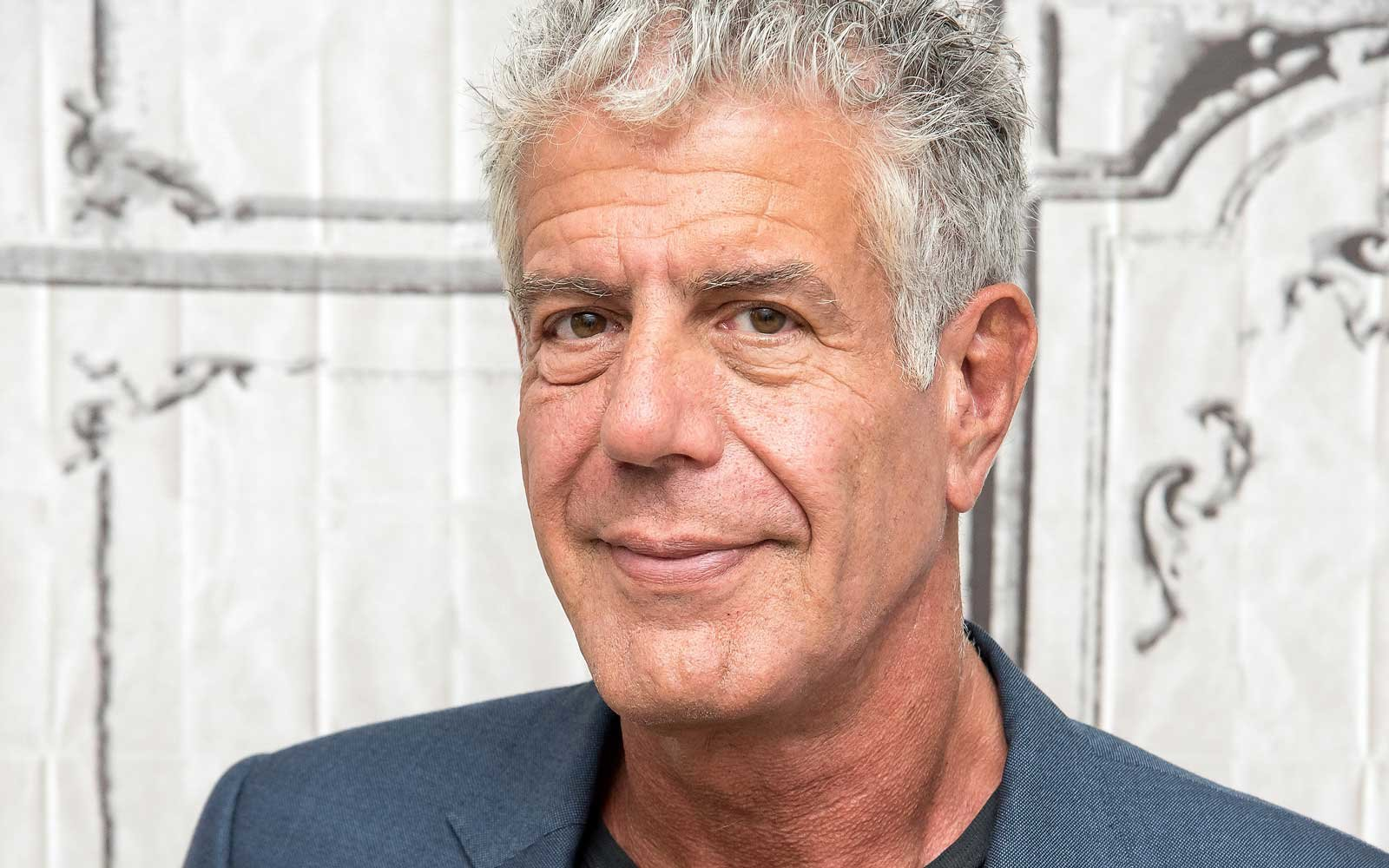 Popular celebrity chef and TV Host Anthony Bourdain