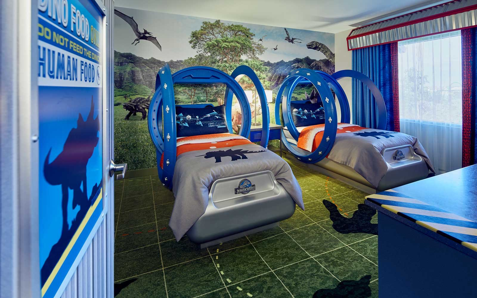 Kids Can Sleep With Dinosaurs In This New Jurassic World
