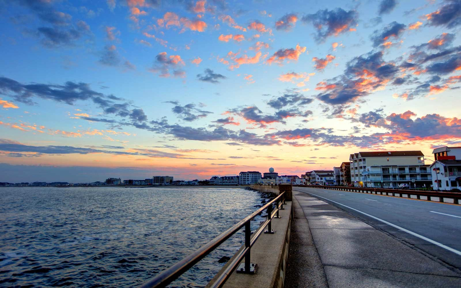 Hampton Beach is a beach resort in the town of Hampton, New Hampshire, United States