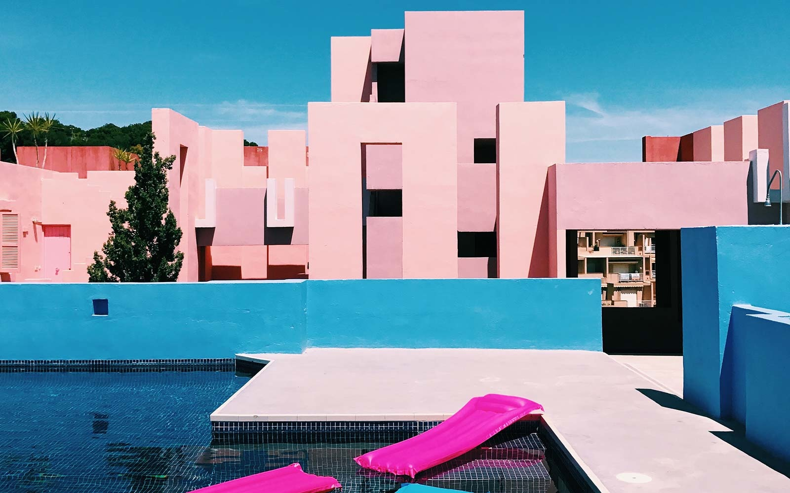 Two Bedroom Seaview Apartment in La Muralla Roja, Calpe, Spain