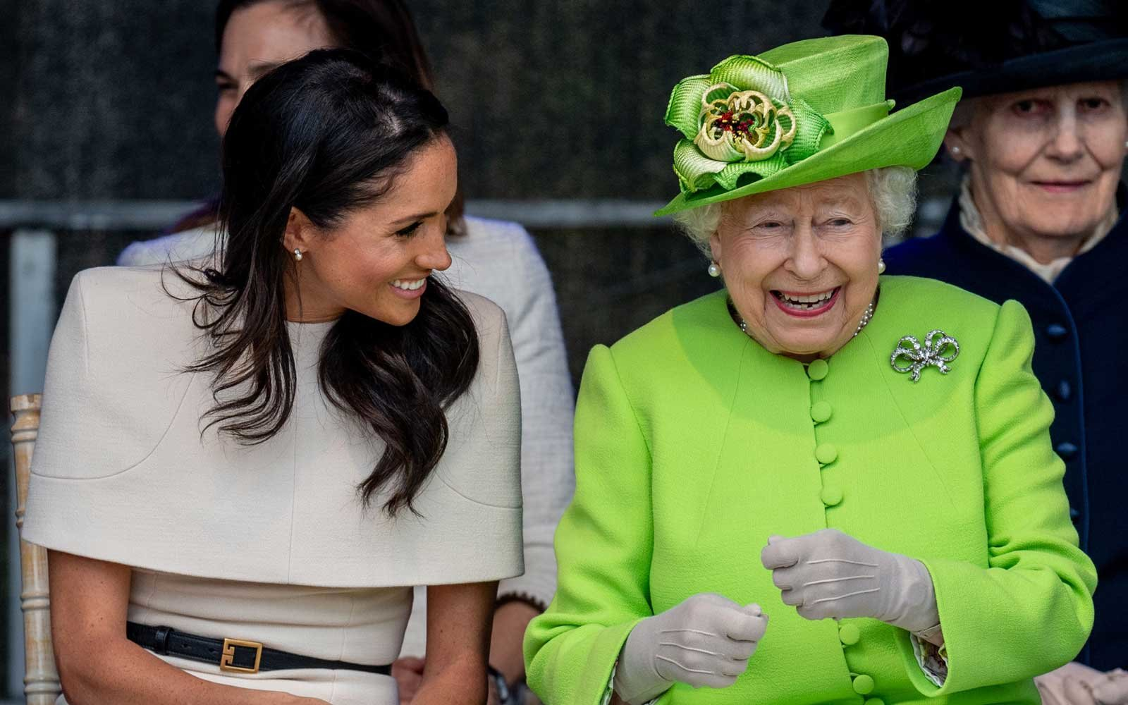 Having the lols! Meghan and the Queen are officially besties
