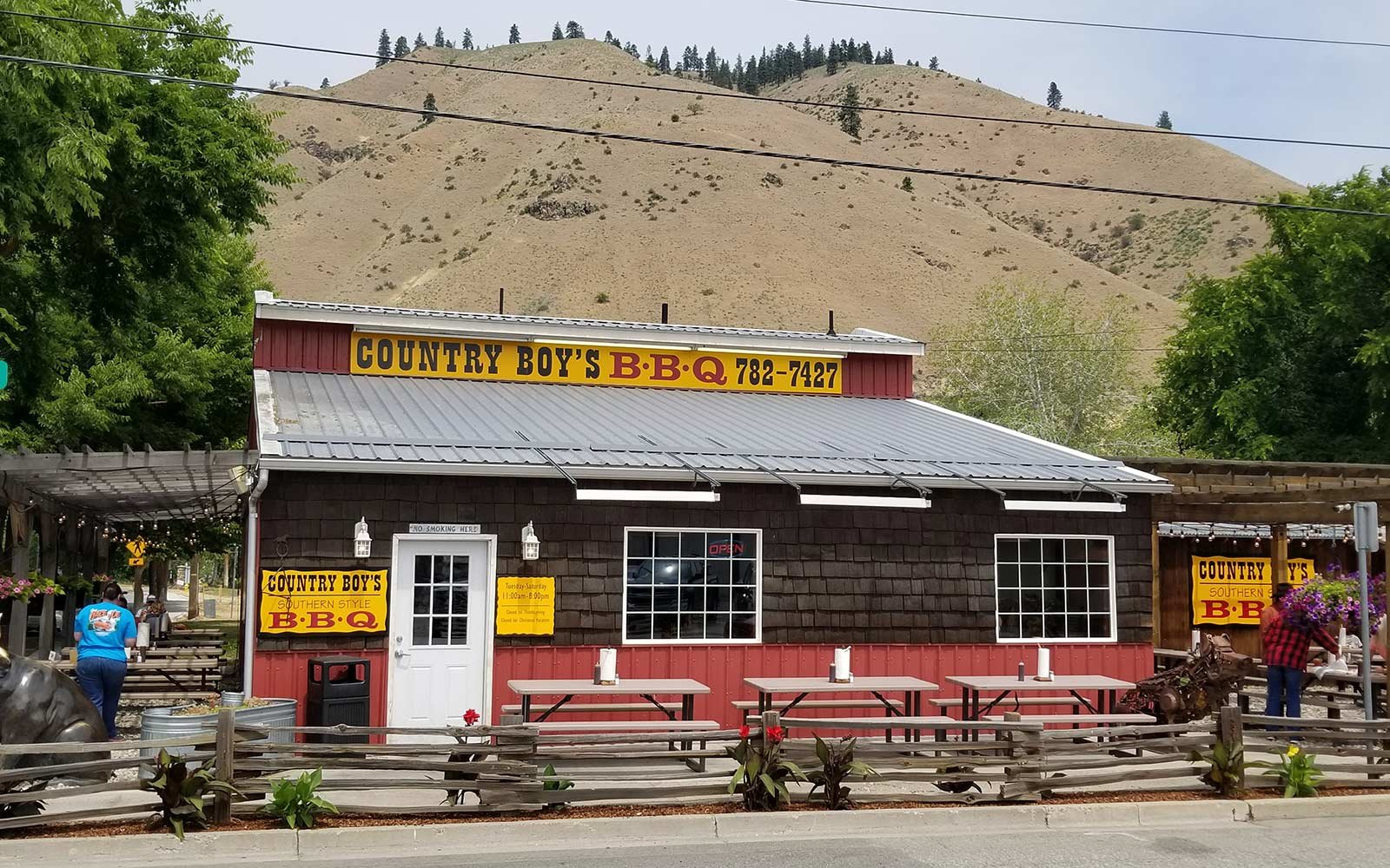 Country Boys BBQ, Cashmere, WA