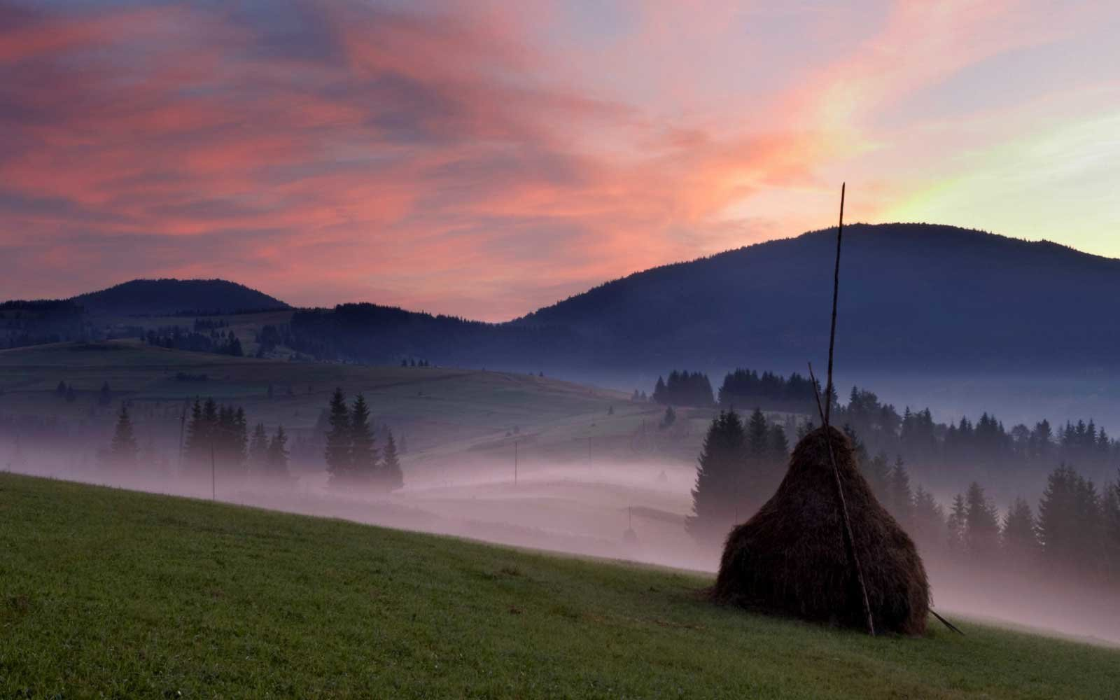 Carpathian Mountain Ukraine