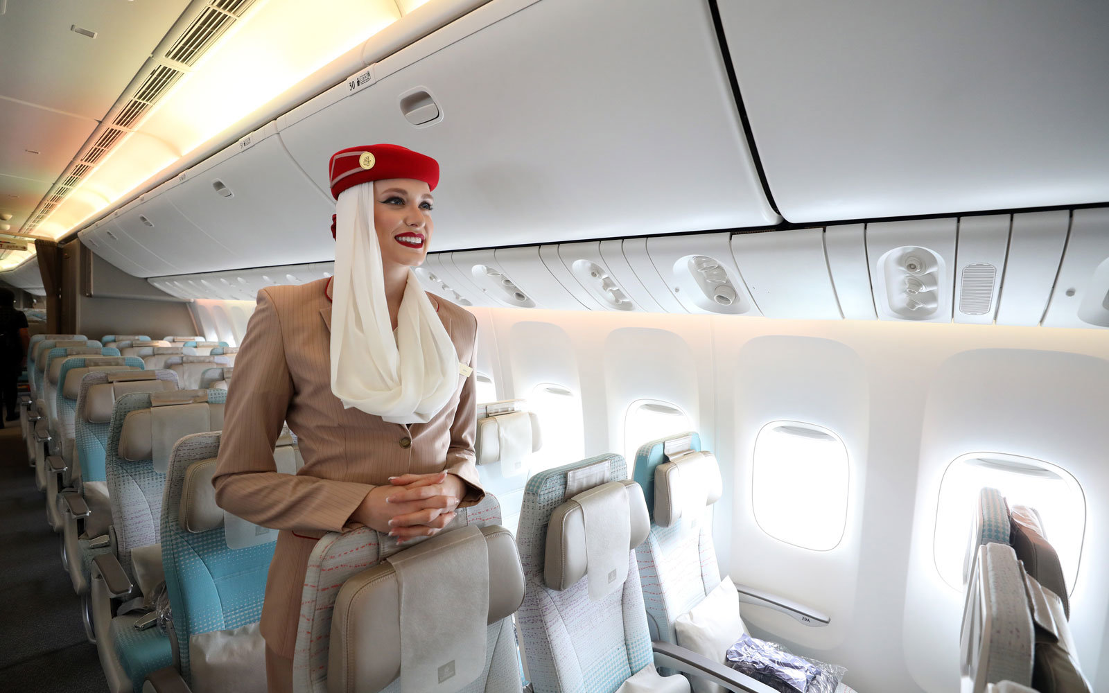 Emirates is currently hiring flight attendants.