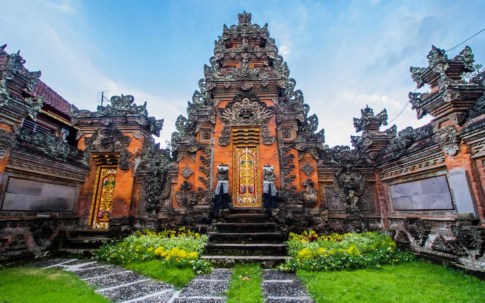 Temple in Ubud, Indonesia