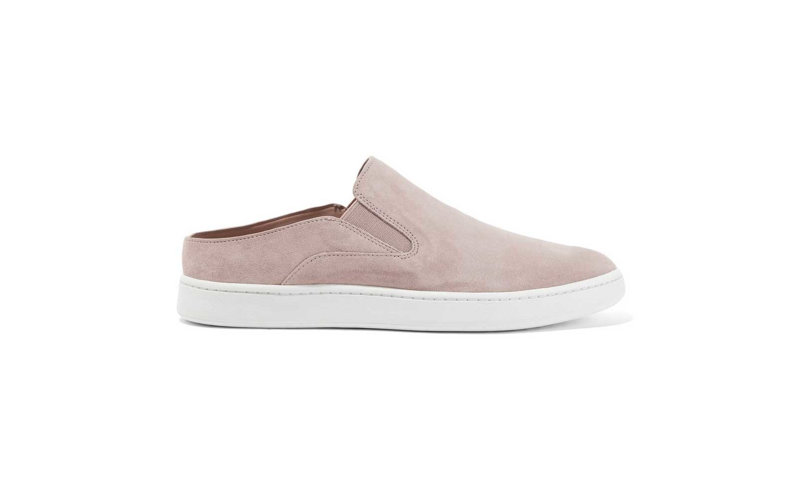 VINCE Verrell 2 suede slip-on sneakers