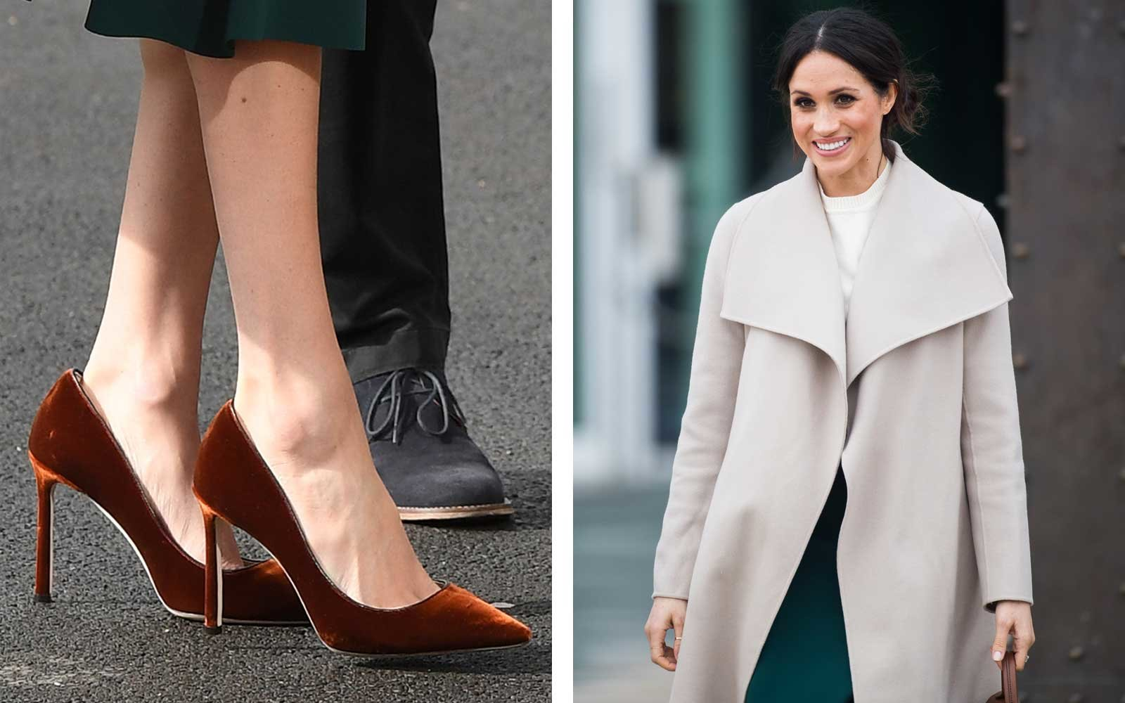 1e2f76181eb Why Meghan Markle Always Wears Shoes That Don t Fit Her