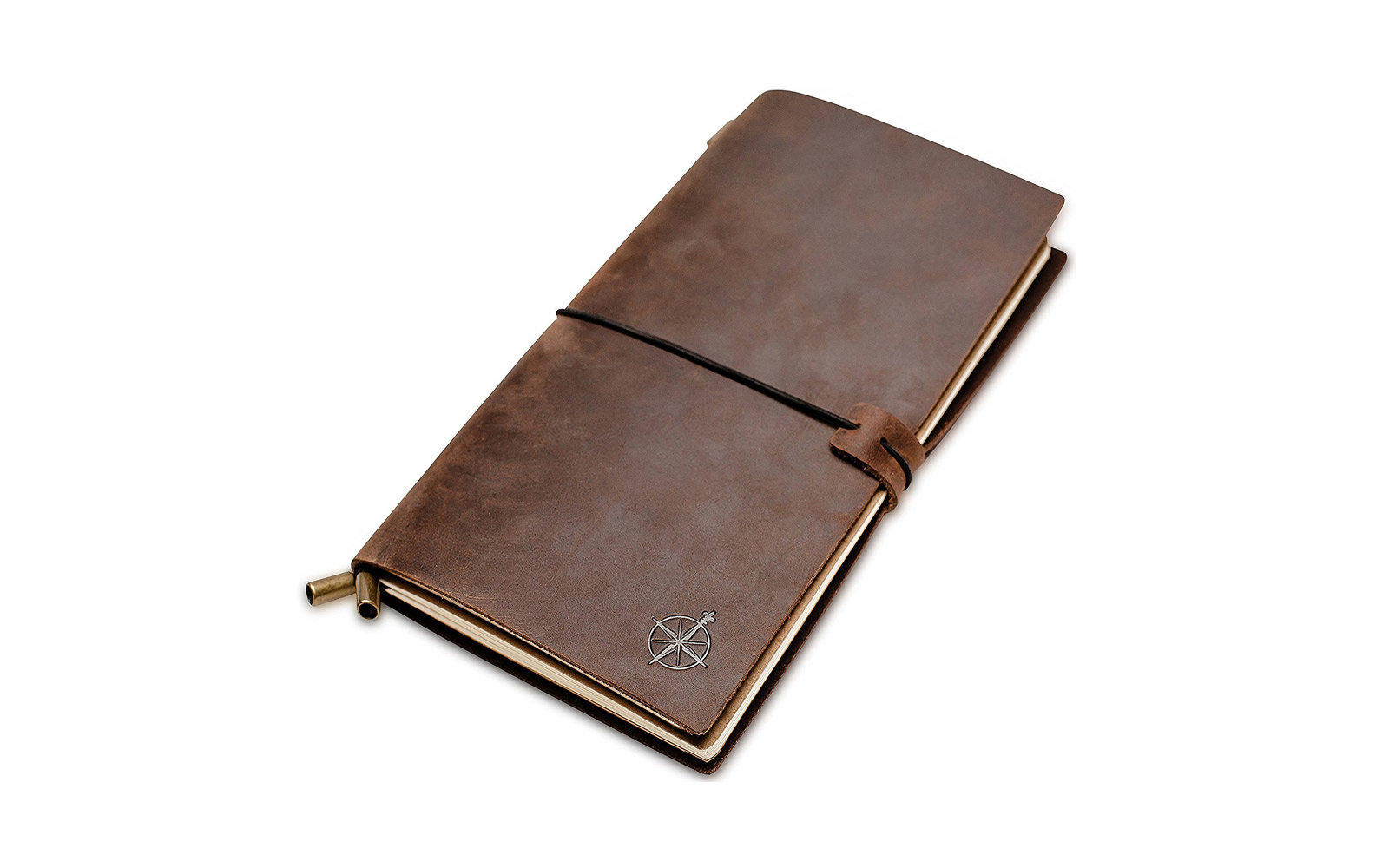 wanderings leather travel journal