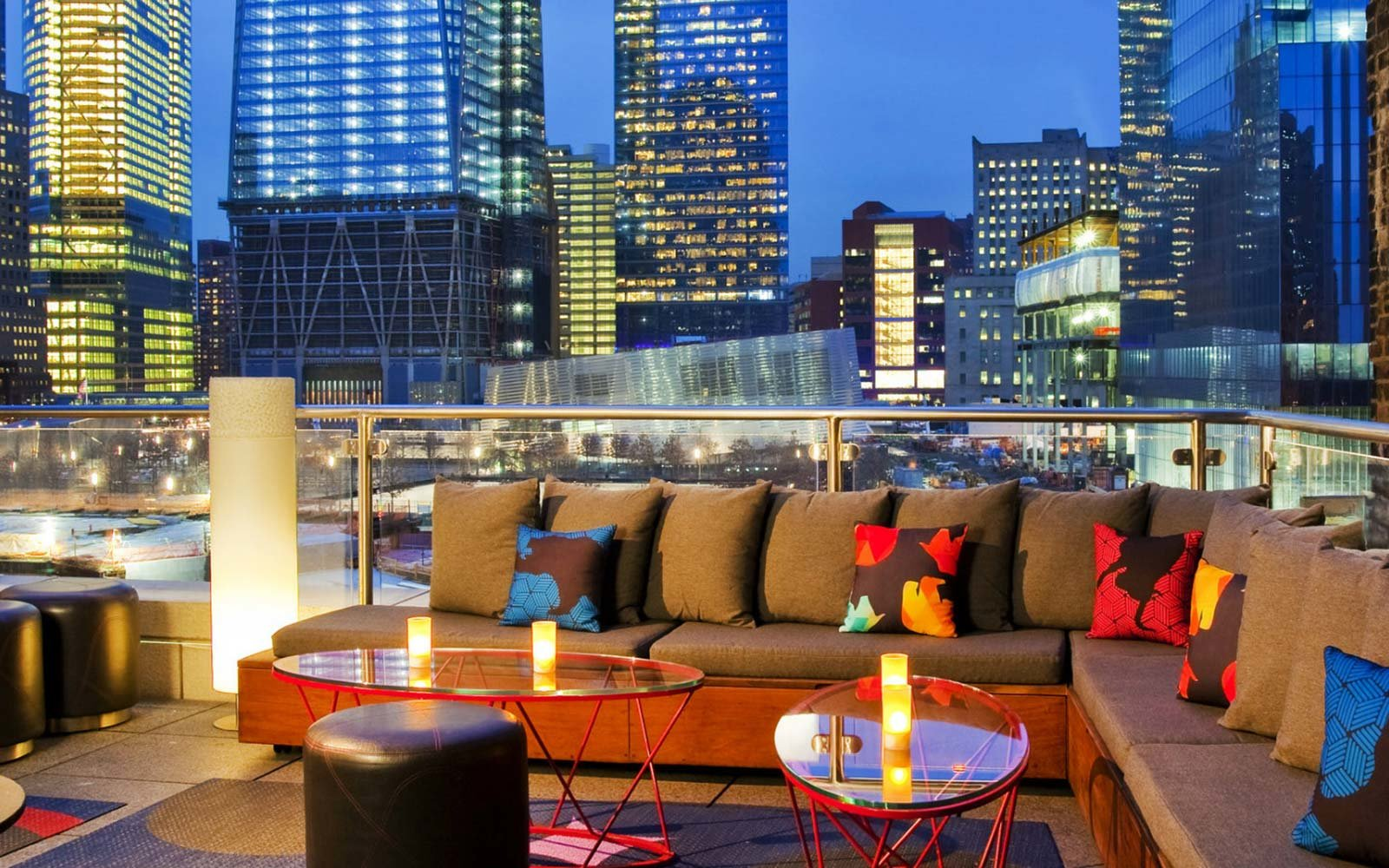 Living Room Bar And Terrace, W New York Downtown: Financial District