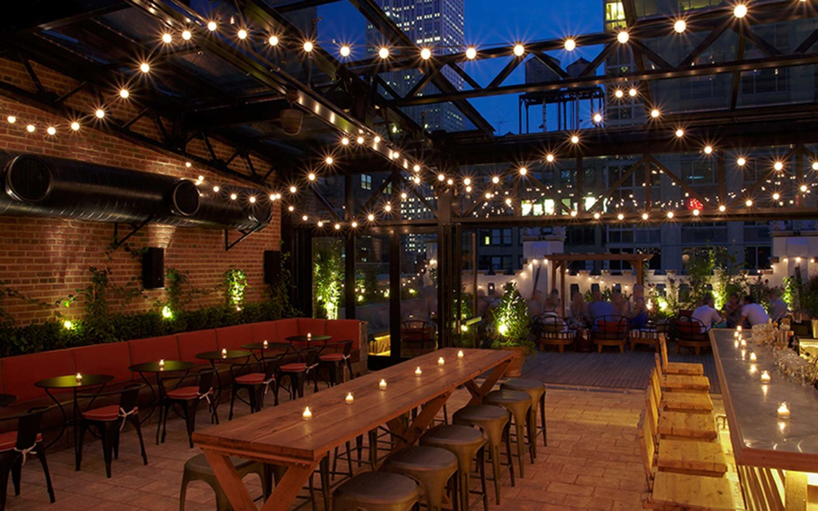 Refinery Hotel Rooftop New York