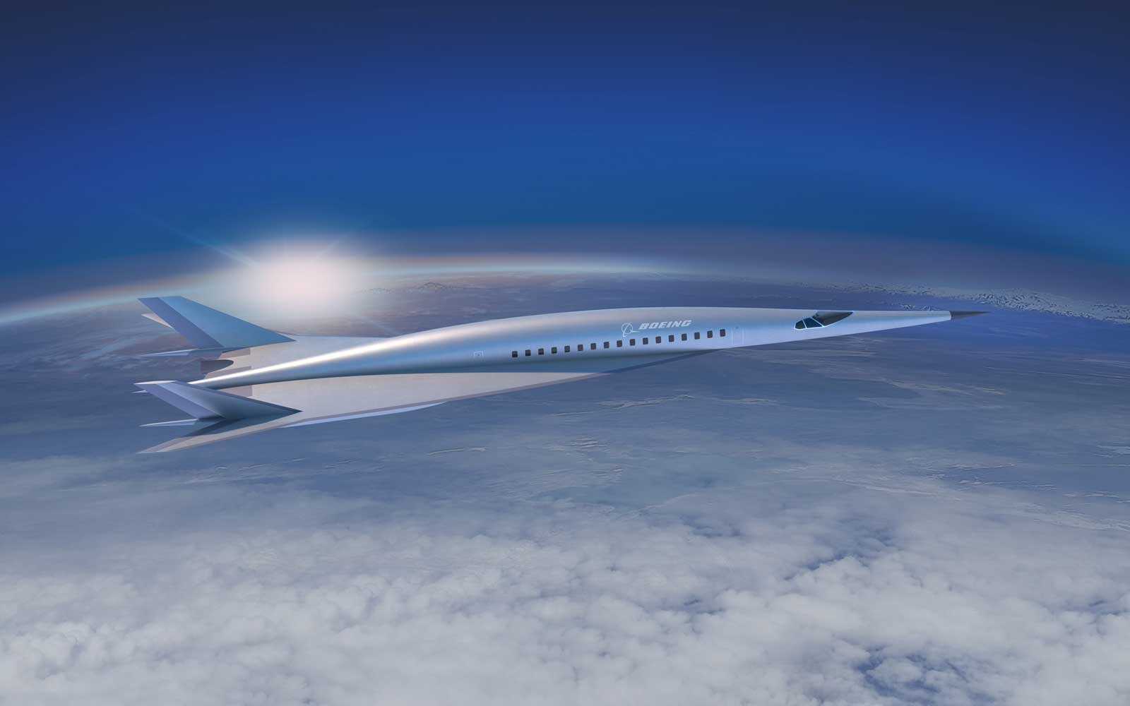 Boeing unveils concept for hypersonic passenger jet