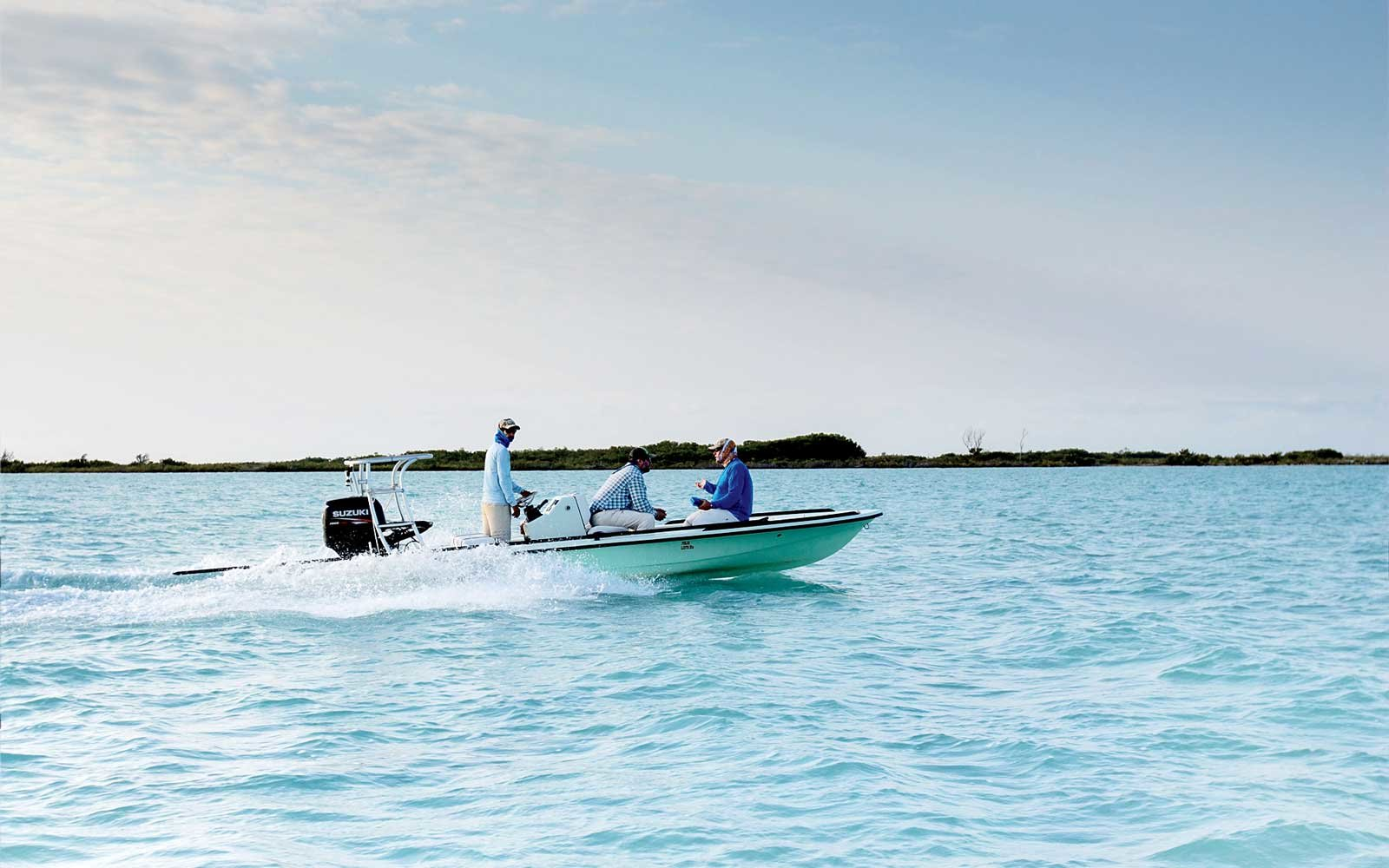 On the water in Cuba.