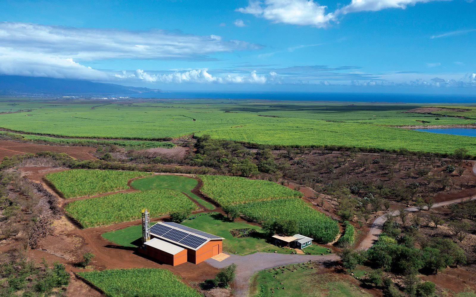The Hawaii Sea Spirits Organic Farm and Distillery, Kula, HI