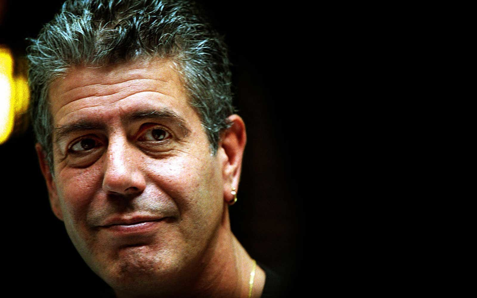 Chef Anthony Bourdain, 27 October 2003. AFR Picture by MICHELE MOSSOP
