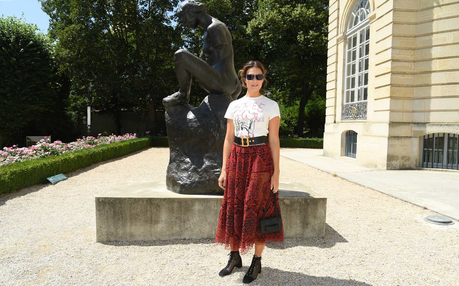 Mandy Moore attends the Christian Dior Haute Couture Fall Winter 2018/2019 show as part of Paris Fashion Week on July 2, 2018 in Paris, France.