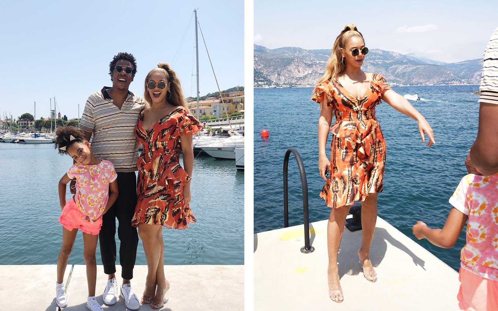 Beyonc 233 And Jay Z Took The Whole Family To Cannes And The