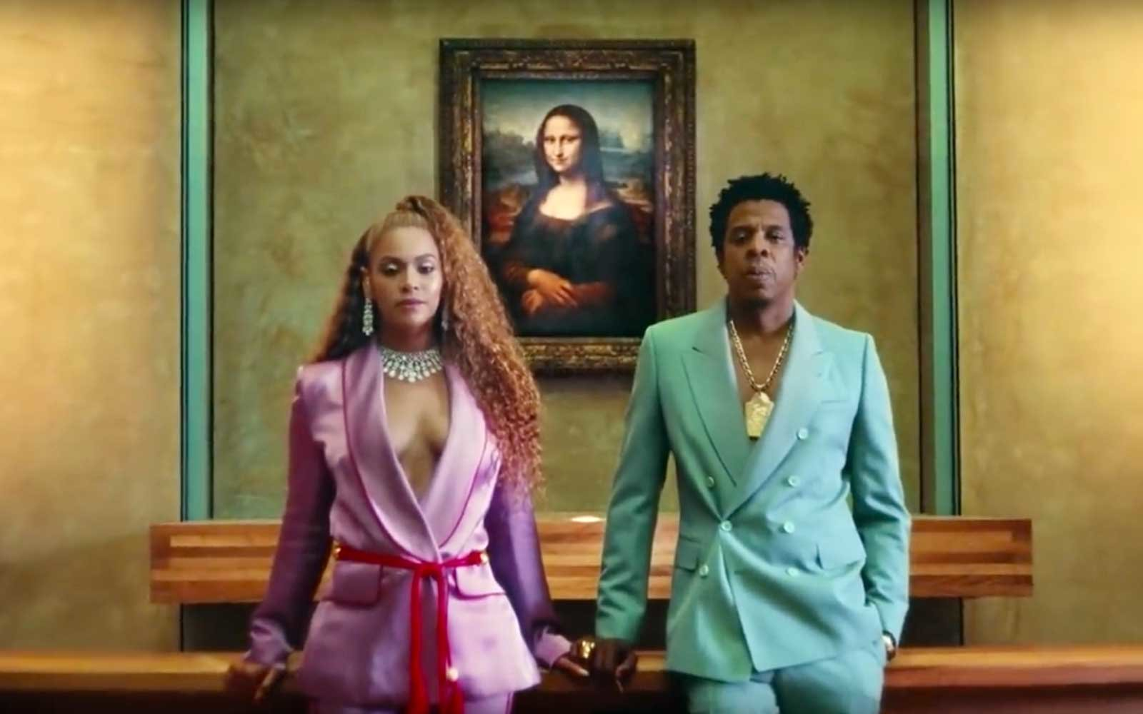 Beyoncé and Jay-Z, The Carters, Apeshit Music Video at the Louvre in Paris