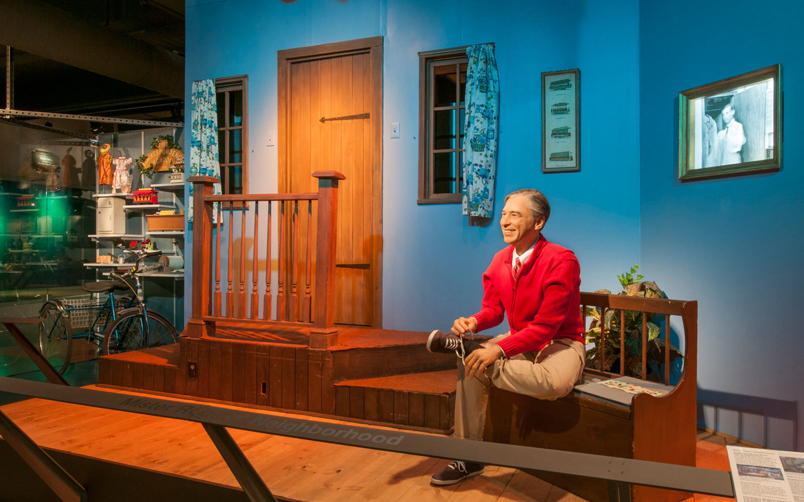 "The ""Mister Rogers' Neighborhood"" exhibit at the Senator John Heinz History Center houses the largest collection of original items from the show's set."
