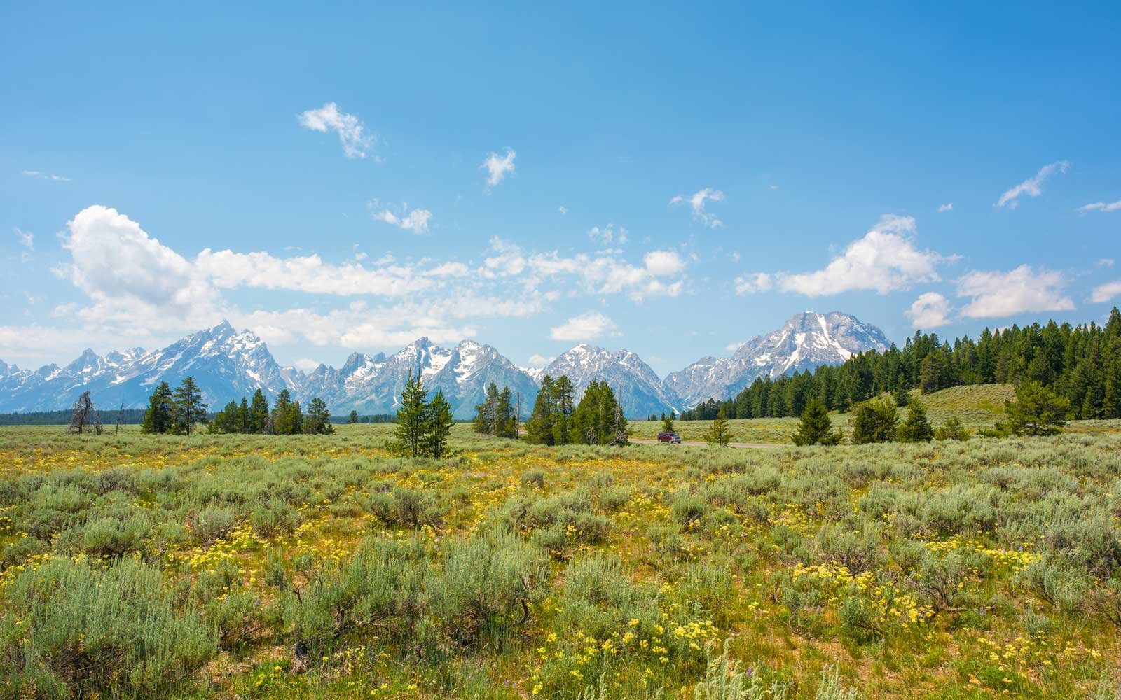 Jackson Hole, Wyoming - Grand Tetons Range