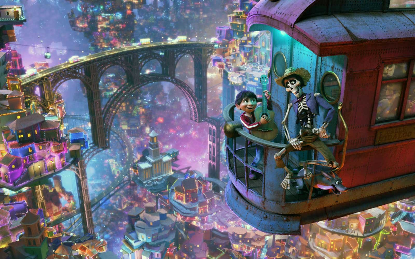 film still from Coco by Pixar Animation Studios and Walt Disney Pictures