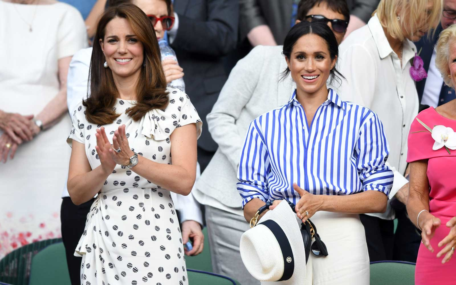 e55c4a0fd00 Meghan Markle Brought Her Favorite Hat to Wimbledon but Wasn t Allowed to  Wear It