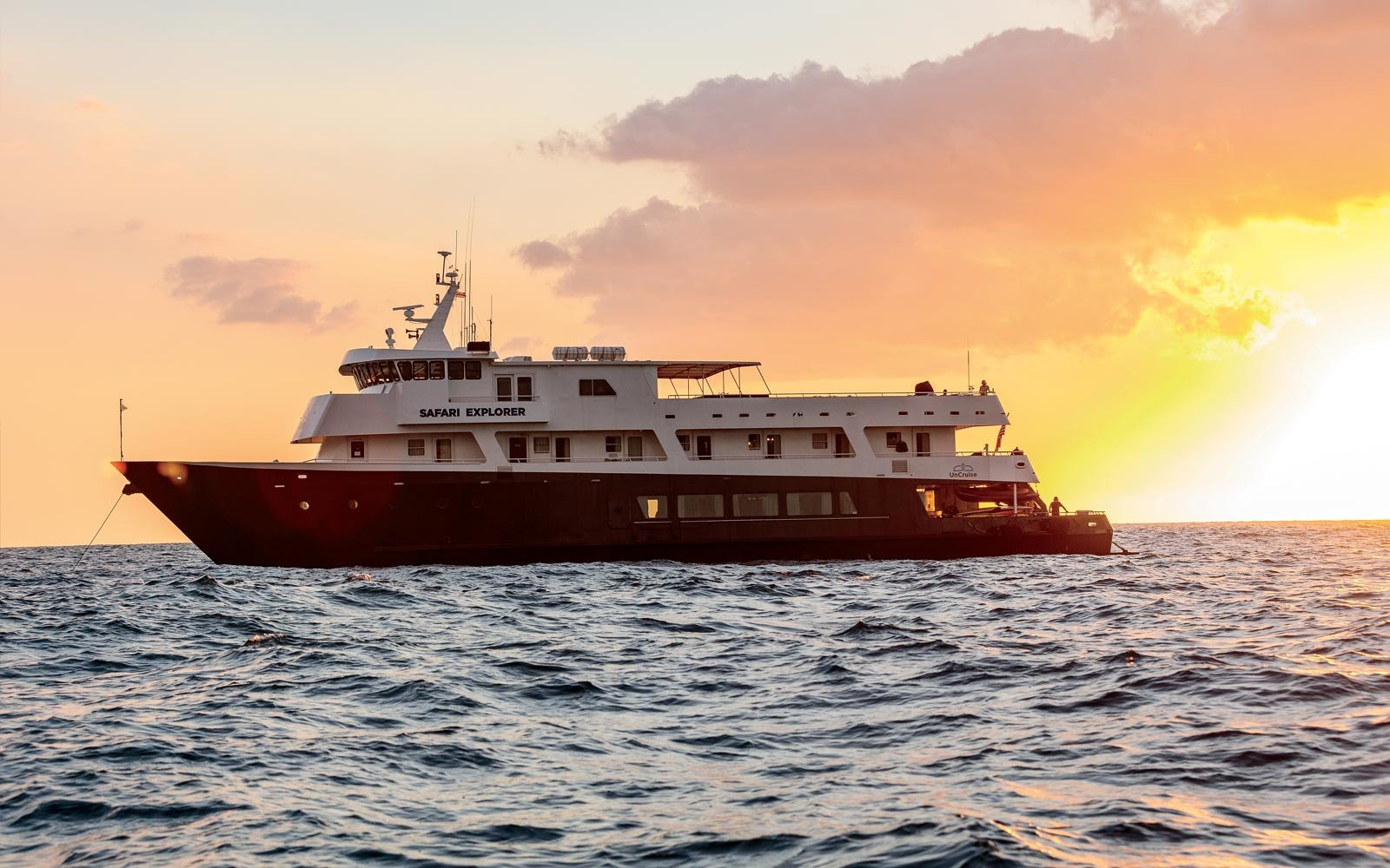UnCruise Adventures' Safari Explorer ship in Hawaii