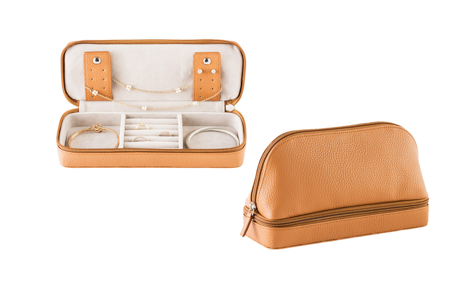 Stackers Makeup And Jewelry Travel Case