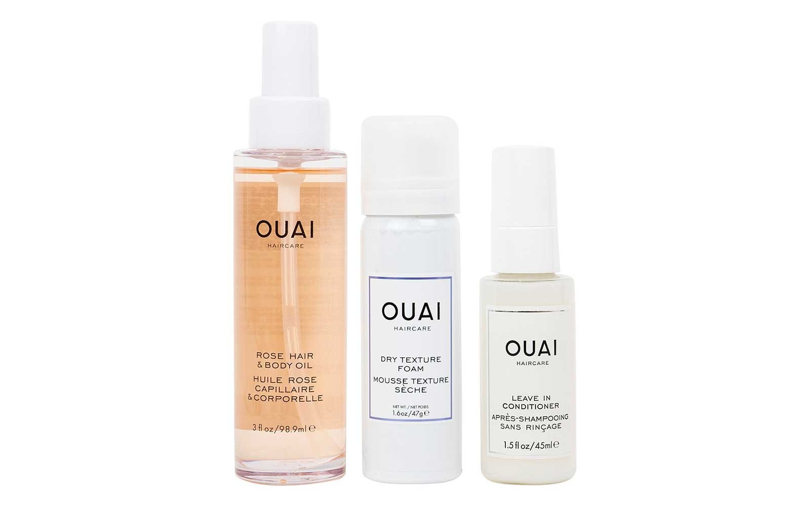 Ouai travel hair kit