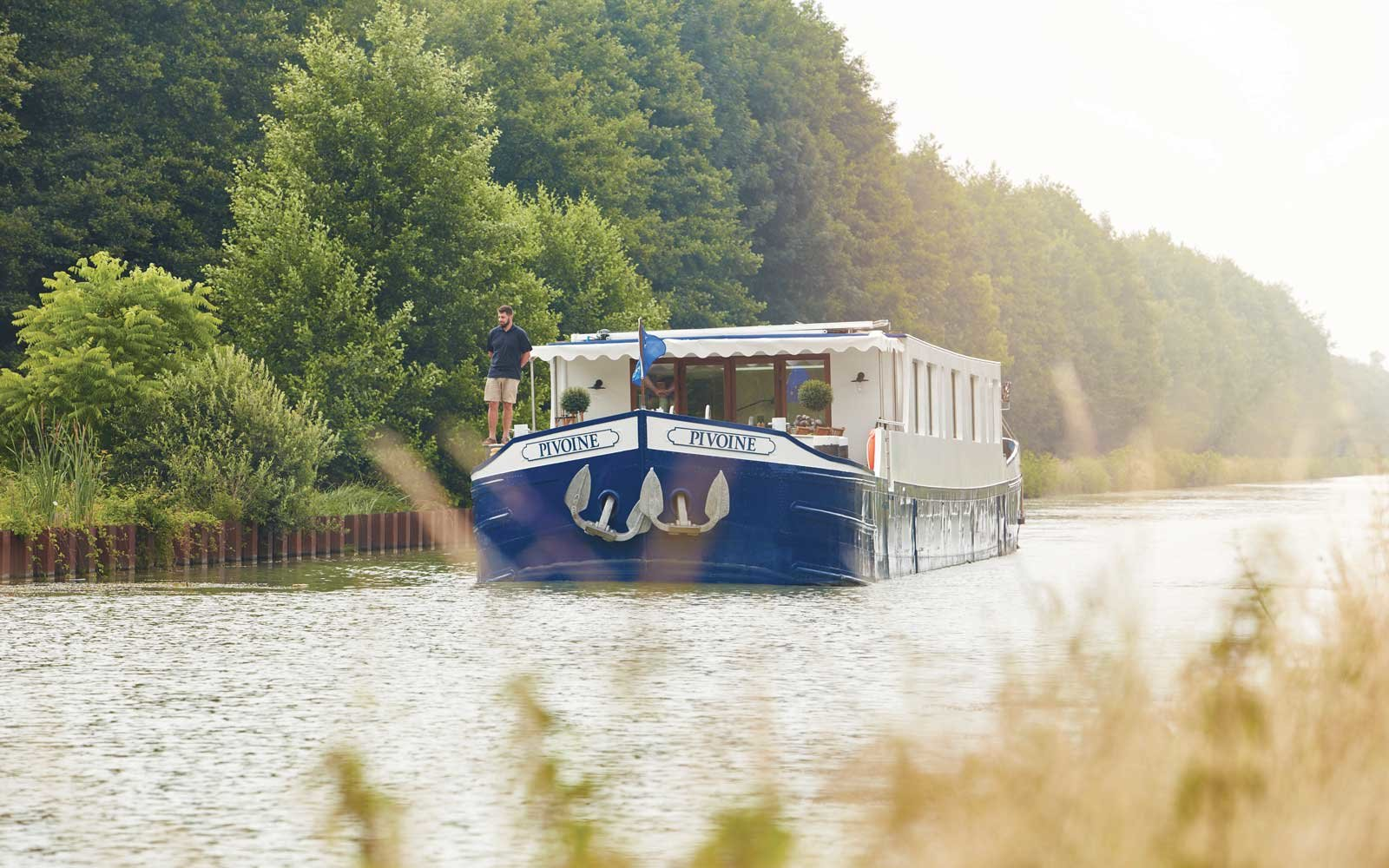Belmond Afloat on the river