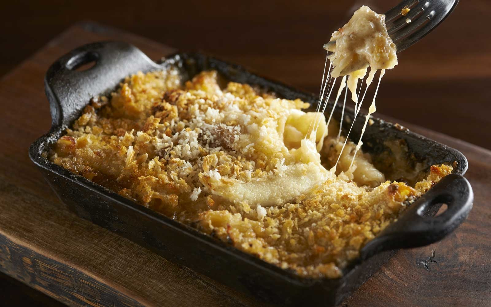 Macaroni and cheese at Casellula, in New York